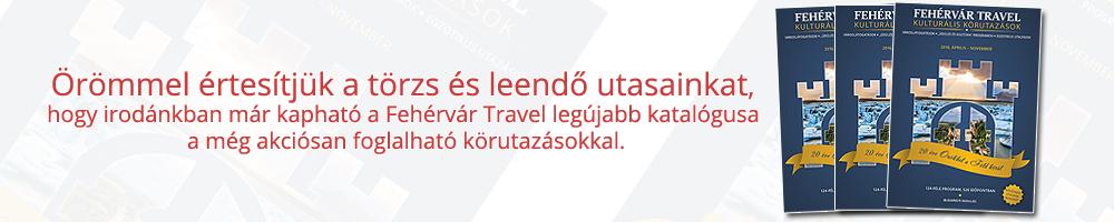 Fehérvár Travel katalógus